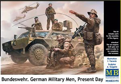MASTER BOX Bundeswehr German Militry 1:35, LIST PRICE $19.95