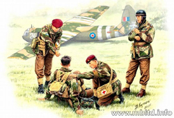 MASTER BOX BRIT WW-II Rigid Landing 1:35 , LIST PRICE $14.45