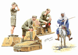 MASTER BOX DEUTSCHES AFRIKA KORPS 1:35   , LIST PRICE $22