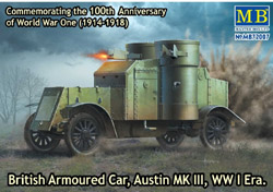MASTER BOX British Armoured Car Mk.Iii:72, LIST PRICE $27.75