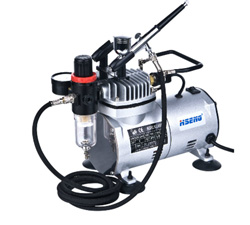 Model Expo Compressor w/tank w/airbrush, LIST PRICE $244.44