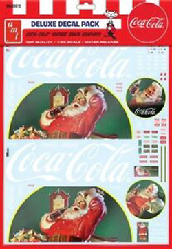 Model Kit Accessories Vintage Coca-Cola Santa Rig, LIST PRICE $17.5