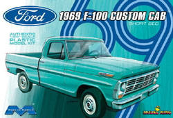 Model King '69 FORD F-100 CUSTOM CAB 1:25, LIST PRICE $34.95