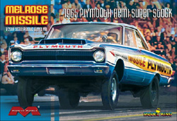 Model King '65 PLYMOUTH MELROSE MISSLE, LIST PRICE $40
