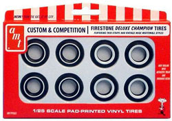 Model King GOOD YEAR TIRES Set of 4 1:25 , LIST PRICE $2.99