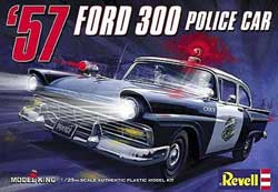 Model King '57 Ford Police Car 1:24, LIST PRICE $29.95