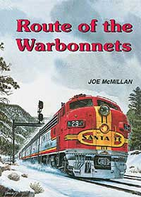 McMillan Publishing Route of the Warbonnets, LIST PRICE $39.5
