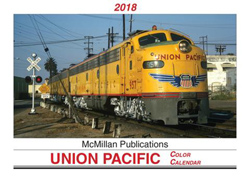 McMillan Publishing 2018 Calendar Union Pacific, LIST PRICE $15.95