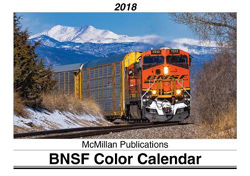 McMillan Publishing 2018 Calendar BNSF, LIST PRICE $15.95
