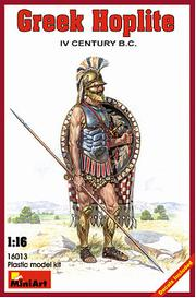 MINI ART MODELS 1:16 Greek Hoplite IV Century B.C. Figures, LIST PRICE $22.5