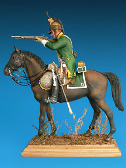 MINI ART MODELS FRENCH DRAGOON NAP WARS 1:16  , LIST PRICE $46.57
