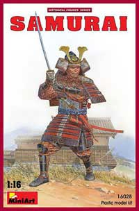 MINI ART MODELS Samurai 1:16, LIST PRICE $39