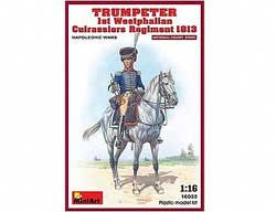 MINI ART MODELS TRUMPETER 1st WESTPHALIAN 1:16, LIST PRICE $49