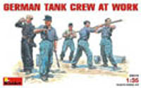 MINI ART MODELS GERMAN TANK CREW 1:35         , LIST PRICE $14.75