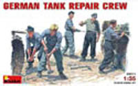 MINI ART MODELS GERMAN TANK REPAIR CREW 1:35  , LIST PRICE $14.75