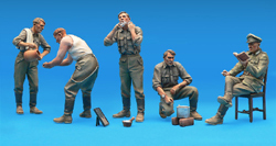 MINI ART MODELS GERMAN SOLDIERS at REST 1:35 , LIST PRICE $17.25