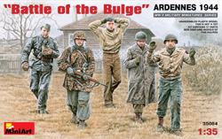 MINI ART MODELS BATTLE of The BULGE 1944 1:35, LIST PRICE $22.5