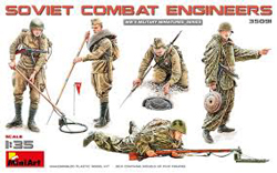 MINI ART MODELS Soviet Combat Engineers 1:35, LIST PRICE $15.99
