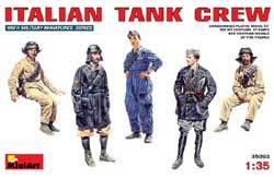 MINI ART MODELS Italian Tank Crew 1:35, LIST PRICE $19