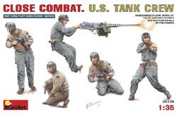 MINI ART MODELS Close Combat U.S. Tank Cr 1:35, LIST PRICE $23