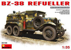 MINI ART MODELS BZ-38 Refueller 1:35, LIST PRICE $62.99