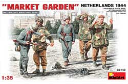 MINI ART MODELS MARKET GARDEN NETHERLANDS 1:35, LIST PRICE $19