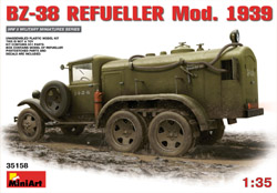 MINI ART MODELS BZ-38 Refueler Mod 1939 1:35, LIST PRICE $62.99
