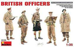 MINI ART MODELS BRITISH OFFICERS 1:35, LIST PRICE $21