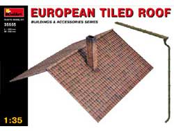 MINI ART MODELS European Tiled Roof 1:35, LIST PRICE $37