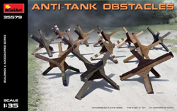 MINI ART MODELS Anti-Tank Obstacles 1:35, LIST PRICE $15.99