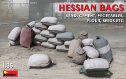 MINI ART MODELS Sand Bags (30) 1:35, LIST PRICE $15.99