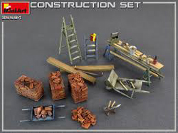 MINI ART MODELS Construction Set 1:35, LIST PRICE $26.99