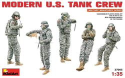 MINI ART MODELS Modern US Tank Crew 1:35, LIST PRICE $15.99