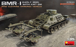 MINI ART MODELS BMR1 Erly Mod Mine Clrg Veh:35, LIST PRICE $75.99