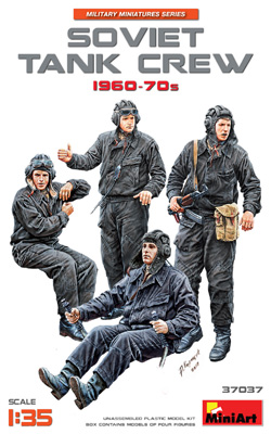 MINI ART MODELS Soviet Tank Crew1960-70s(4):35, LIST PRICE $15.99