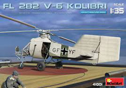 MINI ART MODELS FL282 V6 Kolibri Helicopter 1:35, LIST PRICE $54.99