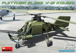 MINI ART MODELS FL282 V21 Kolinti Helicoptr:35, LIST PRICE $54.99
