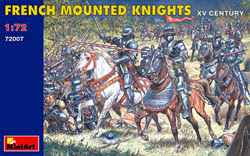 MINI ART MODELS FRENCH Mtd KNIGHTS XV 1:72    , LIST PRICE $13.5
