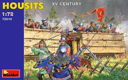 MINI ART MODELS HOUSITS XV CENTURY 1:72 , LIST PRICE $16.25
