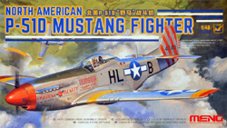 MENG by Squadron Meng North American P-51D Mustang Fighter Snap 1:48, LIST PRICE $50.99