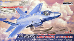 MENG by Squadron F-35A Lightning Ii Fightr 1:48, LIST PRICE $69.99