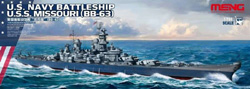 MENG by Squadron Uss Missouri Bb-63 1:700, LIST PRICE $45