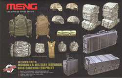 MENG by Squadron US LOAD CARRYING EQUIP 1:35, LIST PRICE $19.99