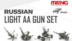 MENG by Squadron Russian Light Aa Gun Set 1:35, LIST PRICE $54.45