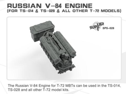 MENG by Squadron Russian V-84 Tank Engine 1:35, LIST PRICE $34