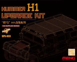 MENG by Squadron Hummer Hi Upgrade Kit 1:24, LIST PRICE $35