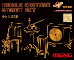 MENG by Squadron Middle Eastern Street Set, LIST PRICE $31.99