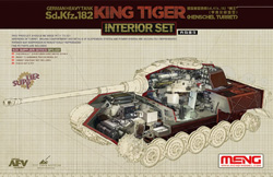 MENG by Squadron King Tiger Interior Set 1:35, LIST PRICE $47.99