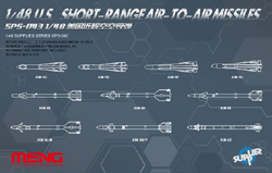 MENG by Squadron U.S Short-Range A-T-A Missiles, LIST PRICE $22.99