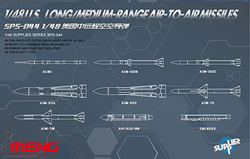 MENG by Squadron U.S  Long-Range A-T-A Missiles, LIST PRICE $22.99